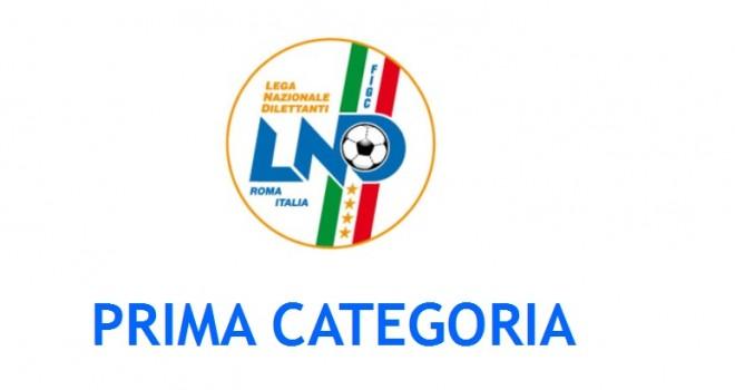 CR CALABRIA: lunedì 12 i calendari di Prima Categoria