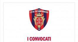 Campobasso-Cesena: i convocati di Bagatti