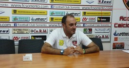 """Sorrento FC, Turi: """"Scontento della gara, Picciola perfetto in difesa"""""""
