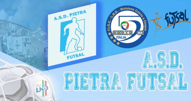 Anche il calcio a 5 a Pietra: ecco l'ASD Pietra Futsal