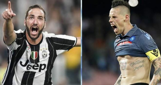 Juventus-Napoli, i convocati di Allegri (Serie A 2016-17)