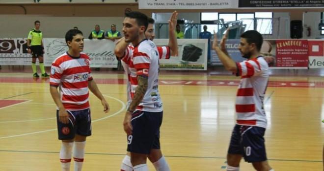 Futsal Barletta: domani big-match a Giovinazzo
