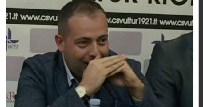 Vultur Rionero, lunedì alle ore 12 ci sarà una conferenza stampa