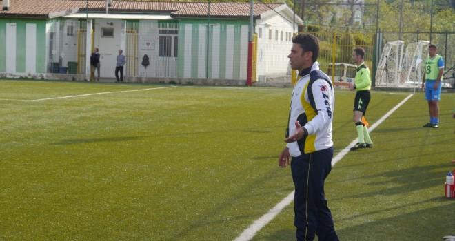 Il neo allenatore Pino Lopolito