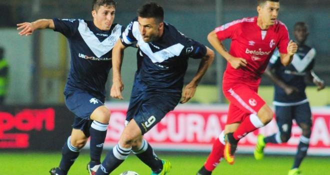 Brescia-Bari 1-1, festival dell'esperienza: Brienza replica a Caracciolo