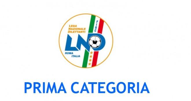 I gironi di Prima Categoria 2018/19