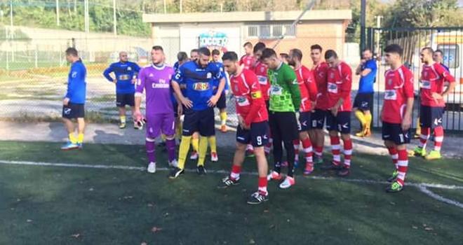 Deportivo Doria-Real Capriglia, sfida con la Prima Categoria in palio
