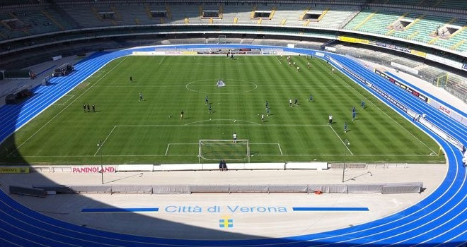 Serie B: Verona travolto, ora il Frosinone fa paura