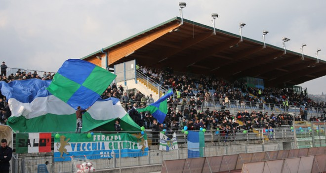 Lo Stadio Lino Turina di Salò