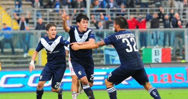 Brescia-Perugia 2-1: Caracciolo e Bisoli ribaltano gli umbri