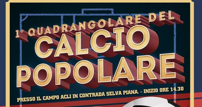 """Campobasso, per un giorno, capitale del """"calcio popolare"""""""