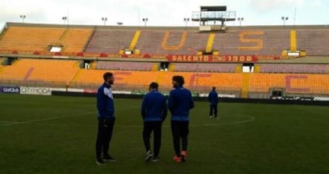 Lecce allenamenti