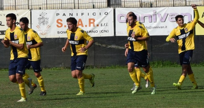 Lippo firma il primo gol del Rivoli