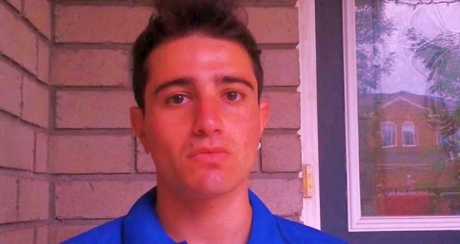 L'attaccante Niko Di Sanza