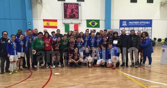 Il Rionero vince la Coppa Italia Femminile, FC Matera battuto 8-4