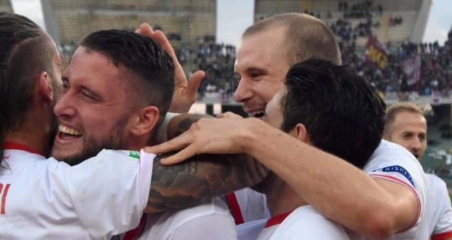 Serie B: l'Entella stende il Bari, lo Spezia cade a Carpi