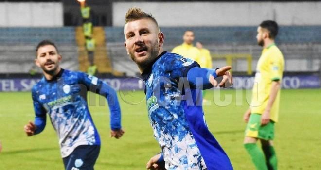 Carretta, due gol
