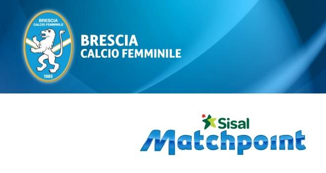 Brescia-Sisal Matchpoint insieme per lo sviluppo del calcio femminile