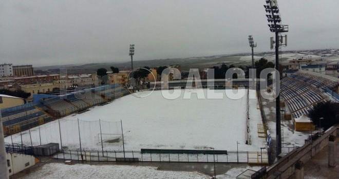 """Neve a Matera, anche il XXI Settembre vittima della """"dama bianca"""""""