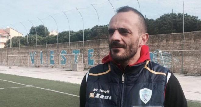 Il Vieste riparte da Bonetti: ufficiale la riconferma del tecnico