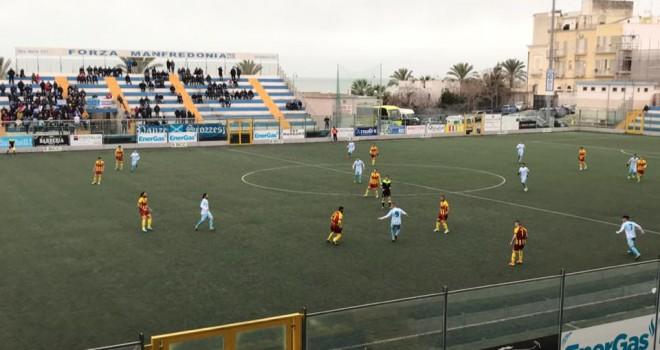 Il derby è biancoceleste: il Manfredonia supera il San Severo