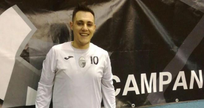 """Campana. Mercurio: """"Contro il Benevento Futsal e mio papà per vincere"""""""