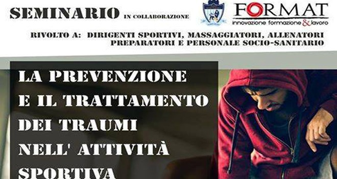 A Lucera seminario su prevenzione e trattamenti dei traumi nello sport