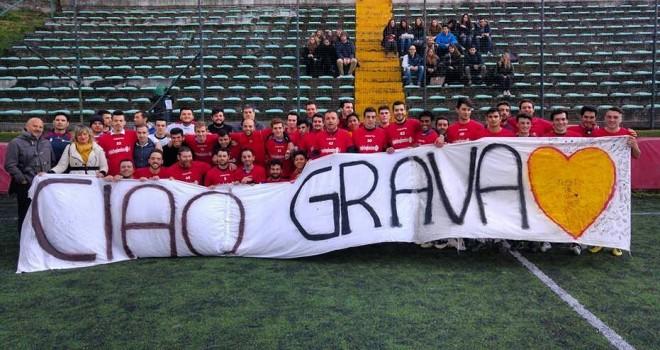 """""""Ciao Grava"""", il ricordo questa sera nella finale di coppa Italia"""