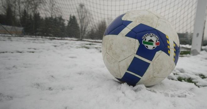 Il maltempo ferma il calcio in Molise: sospesi tutti i campionati