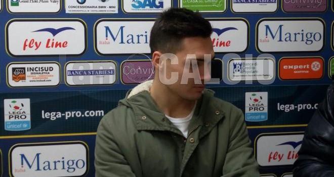 """Juve Stabia, Mastalli: """"Grande gara contro un avversario di livello"""""""