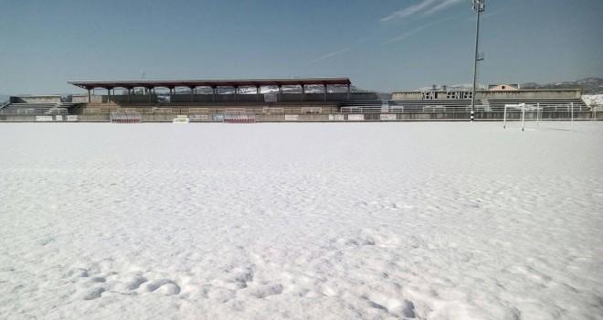 Crb, sospesi nuovamente i campionati di calcio a 11 per il maltempo