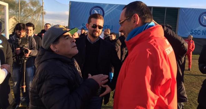 Foto SSC Napoli, Maradona