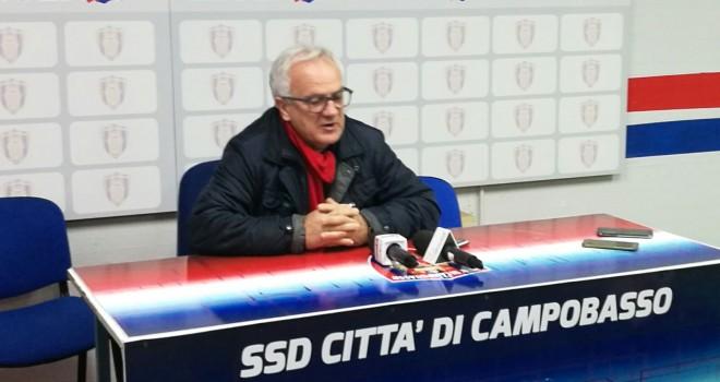 """Campobasso, Silva si presenta; """"Credo nella salvezza"""". Fioretti, addio"""