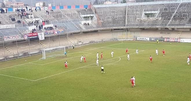 Silva centra la seconda: il Campobasso supera la Jesina per 3-2