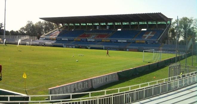 Lo stadio Piola di Novara