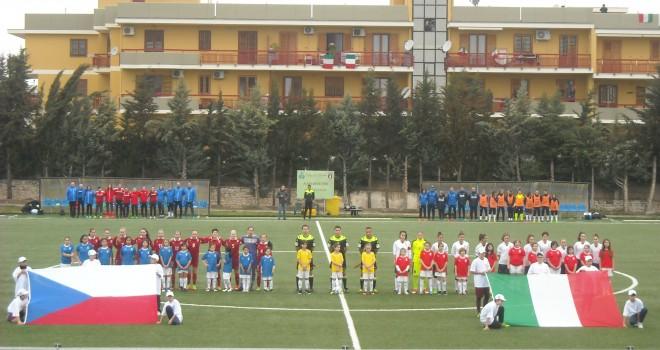 Under 17, Italia-Rep.Ceca 4-2, show delle azzurrine, tris di S. Baldi