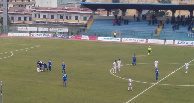 Anche a Pagani il Messina lascia le penne: 2-0 il finale