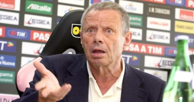 """Rinvio playoff, Zamparini: """"Chiederò risarcimento danni"""""""