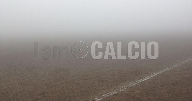 La nebbia batte la Pro