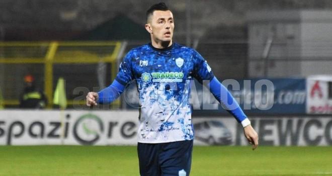 Marco Armellino al Lecce, ph Veglia