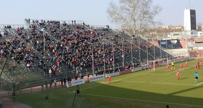 Il Mantova beffato nel finale: vince 1-0 il Padova al Martelli