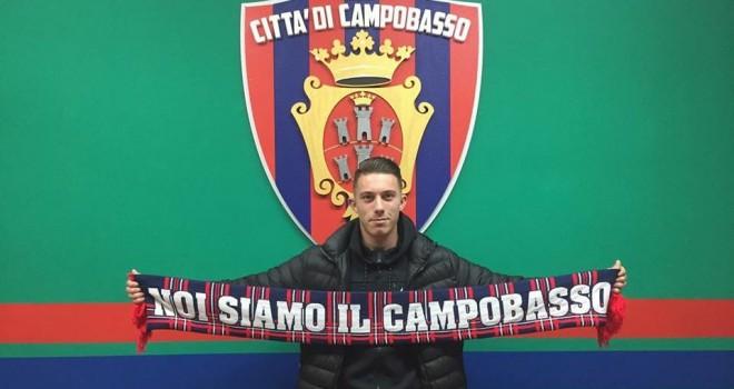 Campobasso, ecco Loperfido: è lui il nuovo centrocampista rossoblù