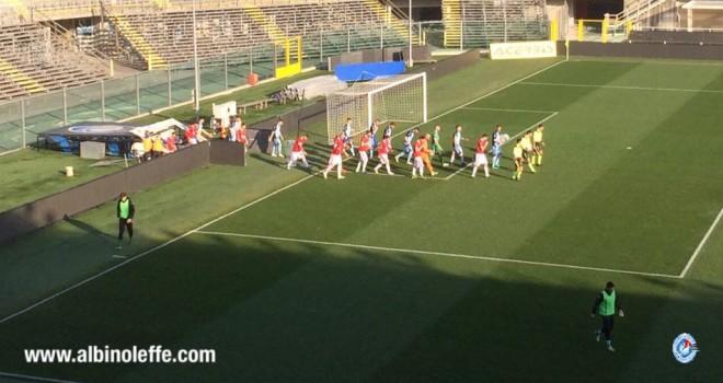 ALBINOLEFFE-TERAMO 1-0 - La Celeste torna a vincere, Teramo abbattuto