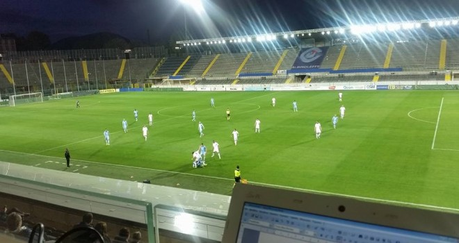 FERALPI SALO'-ALBINOLEFFE 1-0 : Sconfitta una Celeste in emergenza