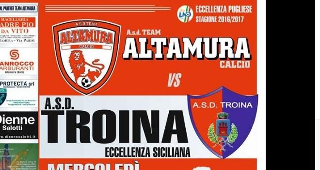 """Team Altamura choc: """"Atteggiamenti tipicamente Siciliani all'andata"""""""