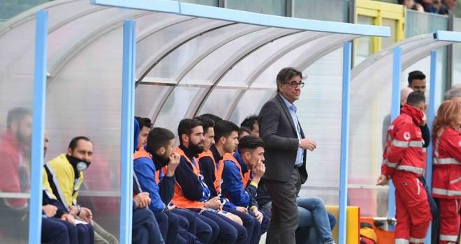 """Montemurro ai tifosi andriesi: """"Abbiamo bisogno di voi"""""""