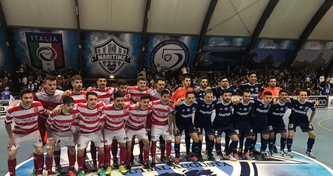 Futsal Barletta: finale amara, la Coppa va al Maritime Augusta