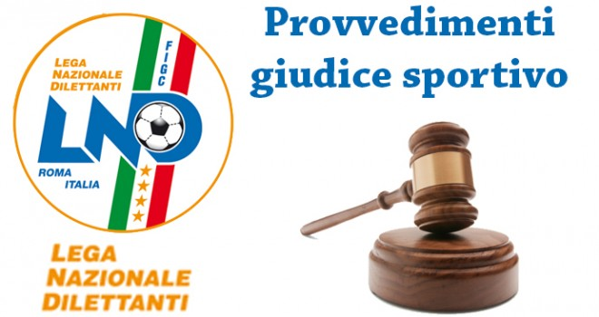 Coppa Italia: le decisioni del Giudice Sportivo