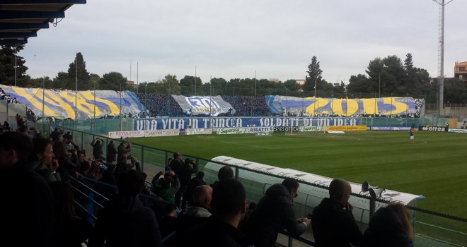 F.Andria-Messina: cambia la data del match