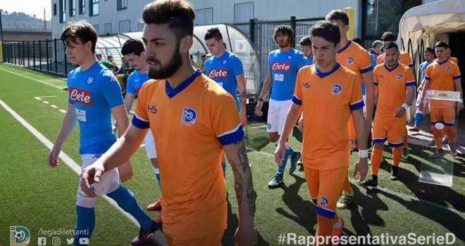 Un altro pari per la Rappresentativa Serie D: con il Napoli è 1-1